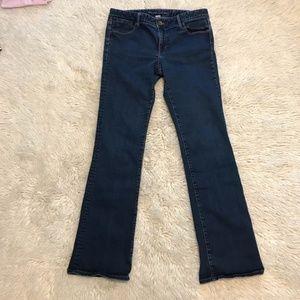 Banana Republic Dark Wash Boot Cut Jeans